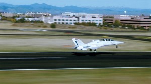 Aviation Technology Group's first flight