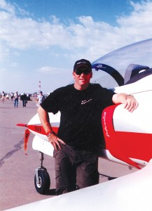 Although Dan Hanchette, vice president of Viper Aircraft Corporation, used to get sick in airplanes, he learned to like flying because he enjoyed spending time with his brother.