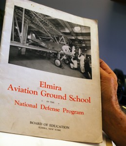 As part of FDR's National Youth Administration Program, Bob Williams attended the Elmira Aviation Ground School in Elmira, N.Y. Williams earned $30 for 80 hours of work, of which $21.99 was deducted for living expenses.
