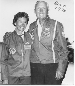 In 1936, John met Dorothy when he made two forced landings at the same location in Cocoa Beach, Fla., in his Aeronca C-3. They were married for 64 years until his death in 2000.
