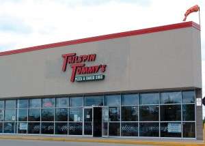 Tailspin Tommy's restaurant is just a short five to 10 minute walk from Wittman Regional Airport in Oshkosh, Wis.