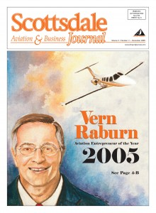 Vern Raburn, Airport Journals' Aviation Entrepreneur of the Year 2005