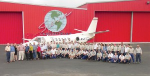 Sierra Industries' team of seasoned professionals has been steadily growing over the years and now includes 125 employees including a fleet of FAA-licensed mechanics, a dedicated sales team and a capable office staff.