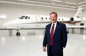 "Cessna CEO Jack Pelton expects Citation Sovereigns and other models to hit a higher production rate in 2006. He credits higher production rates to his adopted ""lean"" philosophy."