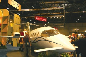 Orders for more than 30 Piaggio Avanti aircraft were placed.