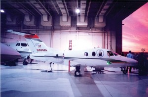 The Eclipse 500 made its first appearance at Scottsdale Airport.