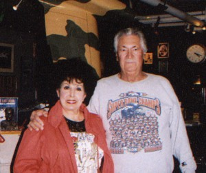 Bud Turk and his lovely wife visit Airport Journal's offices.