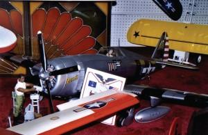 U.S. Army AirCorps WWII Grumman fighter.