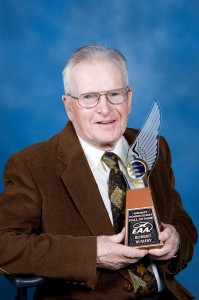 Robert Bushby was inducted into the EAA Homebuilders' Hall of Fame.