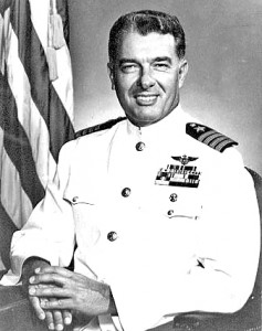 George Watkins retired from the Navy in 1973 as a captain, and was the first pilot to fly 10,000 hours in Navy aircraft.