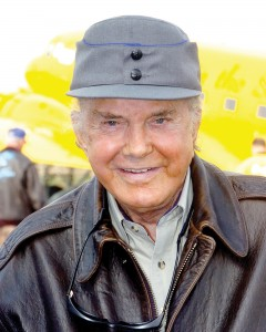 Cliff Robertson recalled being fascinated by the DC-3 as a little boy.