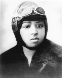 Bessie Coleman was the first American of color to earn a pilot's license.