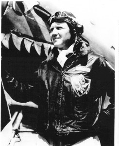 "David Lee ""Tex"" Hill led the American Volunteer Group (""Flying Tigers""), was a triple ace, and after being appointed brigadier general in the Texas Air National Guard, became the youngest one star general in the guard's history."