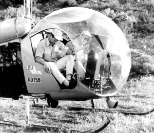 Craig Hill (left) and Kenneth Tobey weren't helicopter pilots.