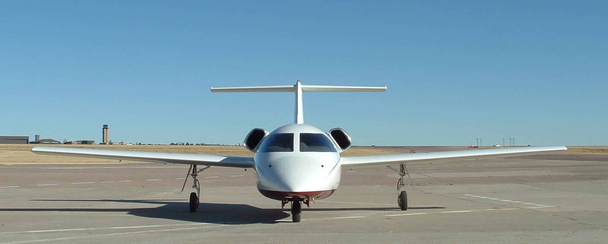 Sport-Jet En Route to Guthrie, Okla.