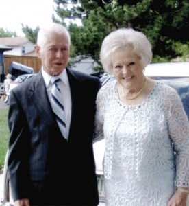 Newlyweds Jack and Wilma Bradley thoroughly enjoyed their visit to the Beaumont Hotel in Beaumont, Kansas. Wilma is mother to Airport Journals publisher Jerry Lips.