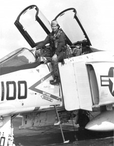 George Westfall flew combat missions from the USS Coral Sea during the height of the air war in Vietnam--sometimes as much as 130 hours of combat in 30 days.