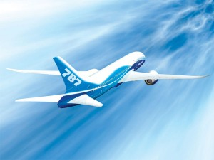 Boeing is gaining strength through its new 787 Dreamliner, which begins production this year and goes into service in 2008.