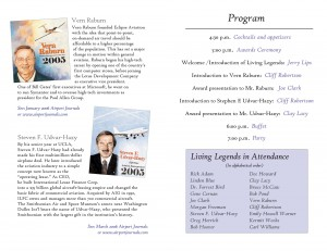 January 27, 2006 Airport Journals Event Program