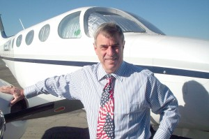 Lawyer Steve Danz has logged over 5,000 pilot hours. He now flies his twin turboprop Cessna 340 about 300 hours a year, for business and as a volunteer pilot for Angel Flight West.