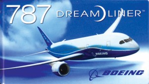 First deliveries for the Boeing 787 Dreamliner are planned for 2008.