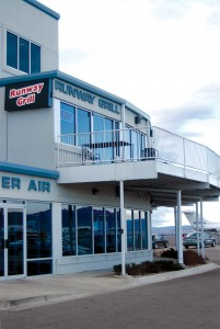The Runway Grill at Jefferson County Airport is located on the second floor of the Denver Air complex.