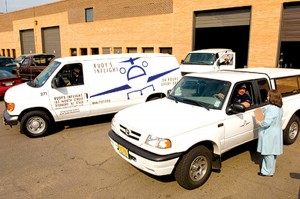 Rudy's fleet of 30 refrigerated vans delivers meals for 400 flights per day.