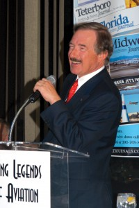"""Steven F. Udvar-Hazy, Airport Journals' Lifetime Aviation Entrepreneur award recipient, became fascinated with aviation at the age of 7, when he visited the Budapest Air Show. """"Living in a communist country, airplanes represented a sense of freedom,"""" Hazy"""