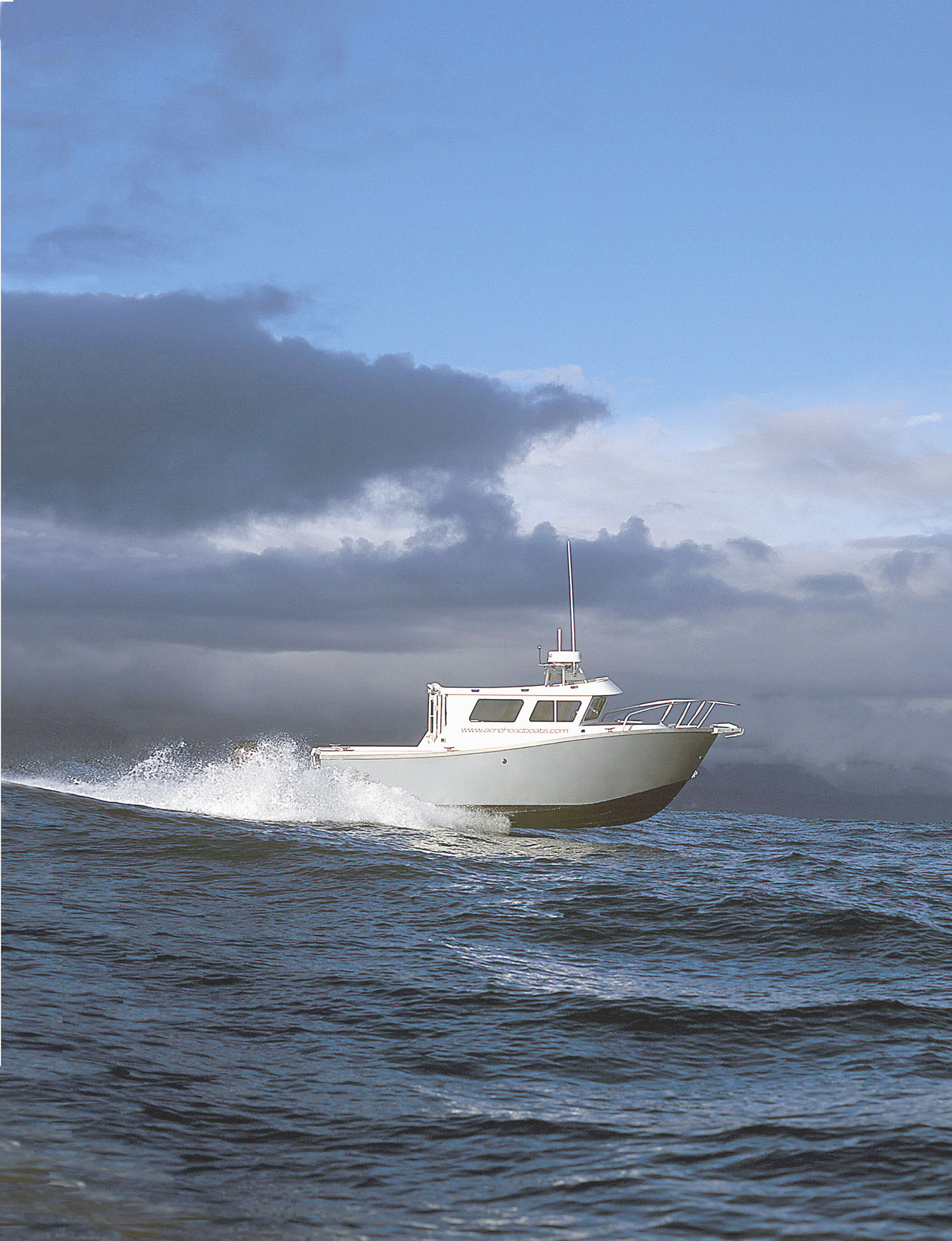 Aerohead Boats Design Incorporates Aviation Technology