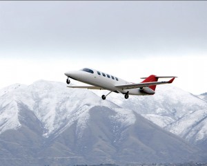 The Spectrum 33 twinjet made its first flight on Jan. 7.