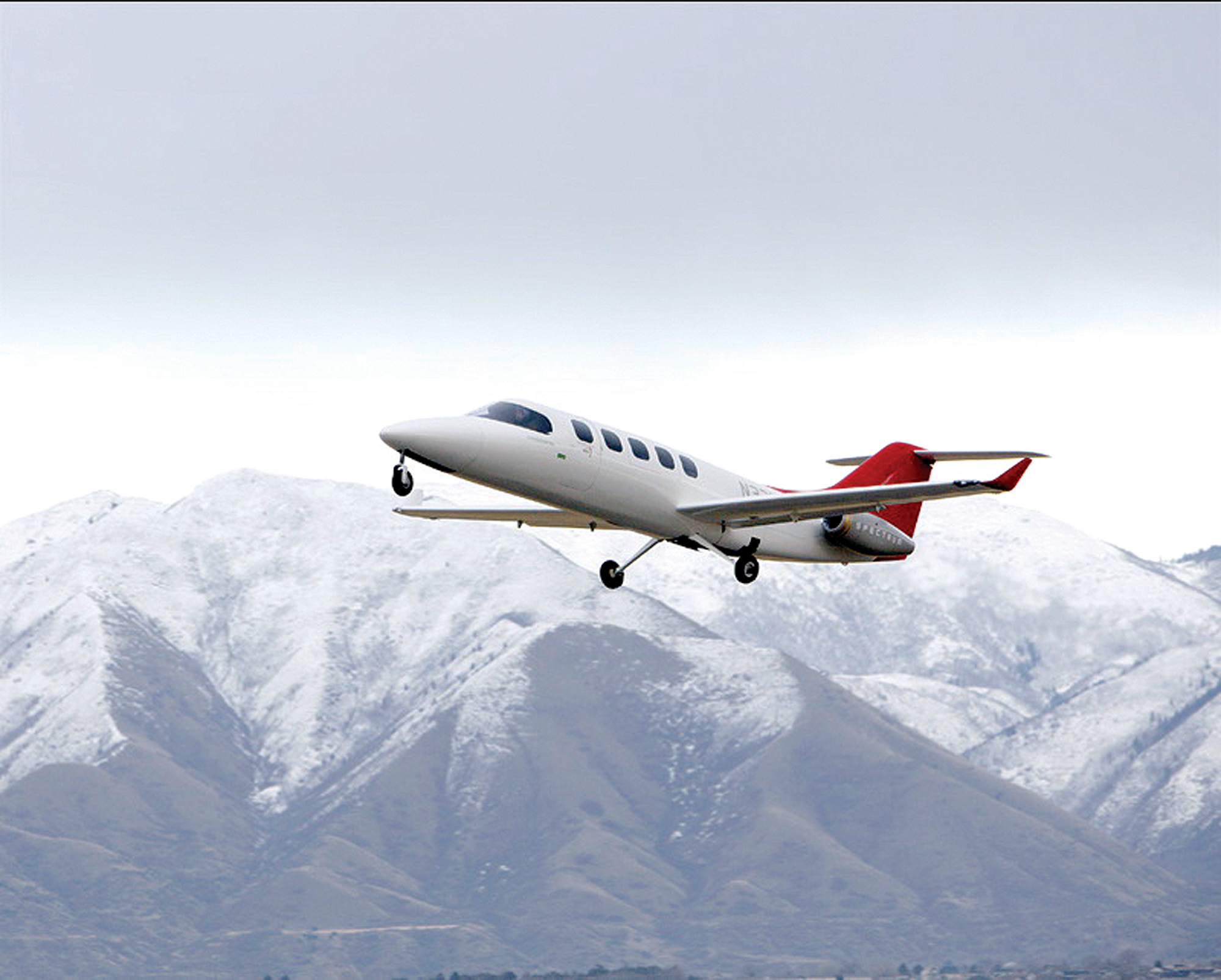 Spectrum 33 Twinjet Takes Flight