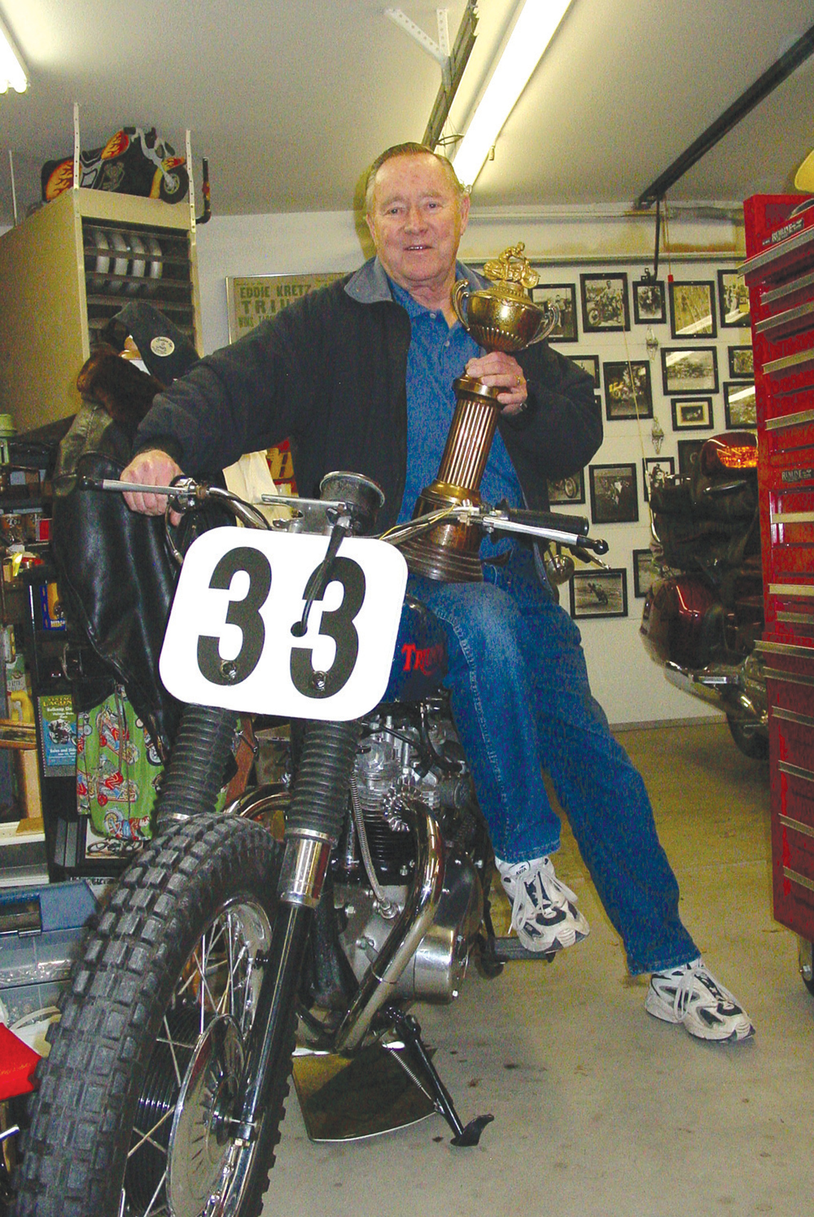 A Day at the Races: Motorcycle Racing Legend Ed Kretz Jr.