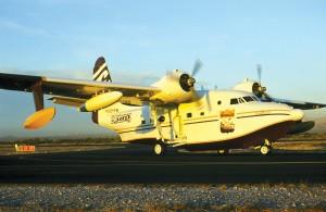 Billabong's G-111 Albatross at Marana Regional Airport, Marana, Ariz.