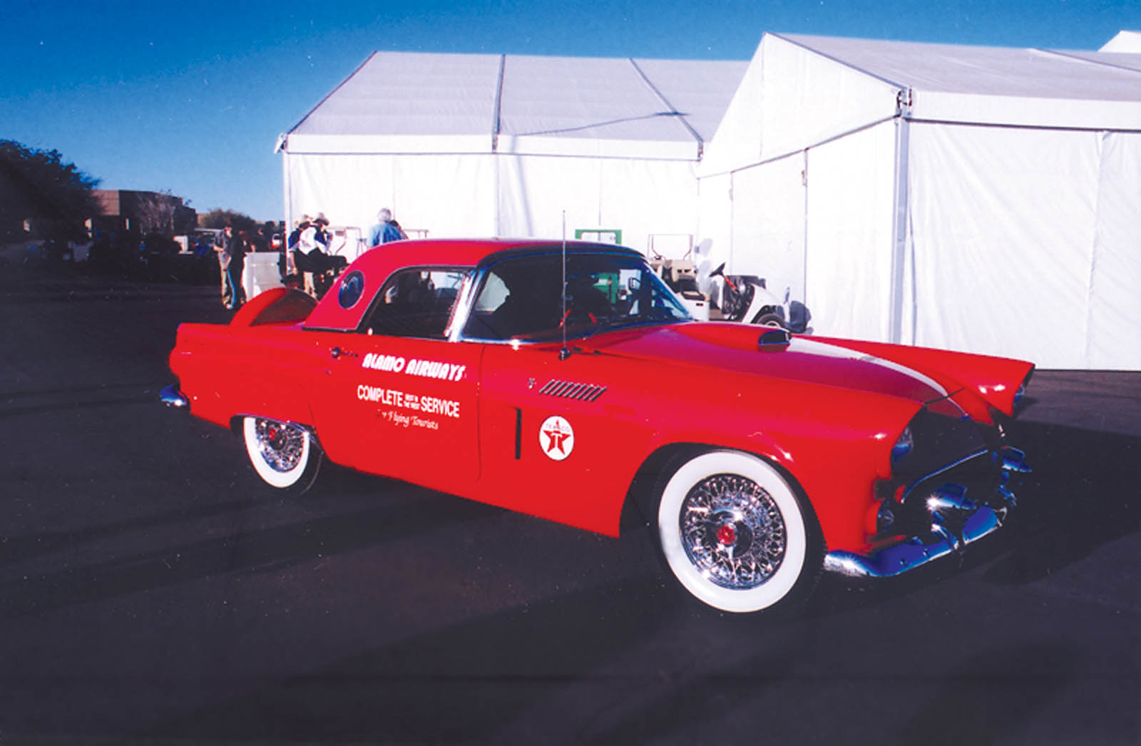 Thunderbird Once Owned by Howard Hughes Sold at Barrett-Jackson