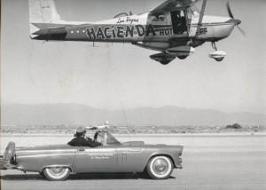 The T-Bird helped refuel a Cessna 172 during a record-setting endurance flight.