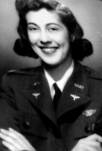 Betty Haas graduated with WASP class 43-W-5.