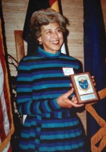 Betty Pfister's contributions to aviation in Colorado were acknowledged in 1984, when she was enshrined in the Colorado Aviation Hall of Fame.