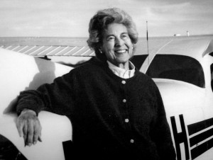Betty Pfister, a mother of three and grandmother of five, continues to be a major force in promoting aviation.