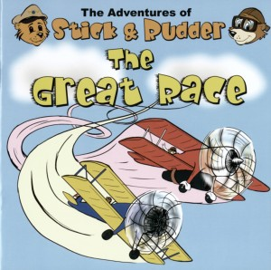 Stick and Rudder are the stars of a series of children's books developed with the hope of teaching children about general aviation in a fun way.