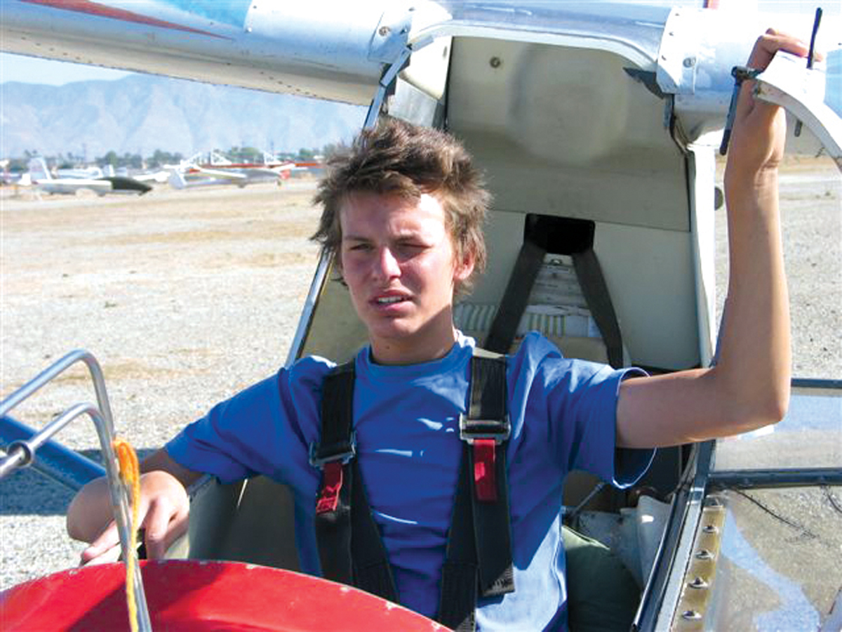 14-Year-Old Parker Henderson takes turn as Youngest Pilot in the U.S.