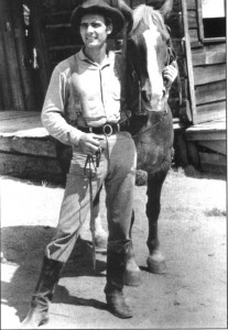 "Dennis Weaver had his first taste of fame with ""Gunsmoke,"" in which he played the slow-witted but good-natured Deputy Chester Goode."