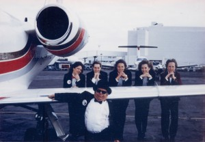 J.J. Ingalls and the Combs customer service girls would put on tuxedos three months during the year, in their effort to win the Pro Pilot PRASE Survey Award for Best FBO.