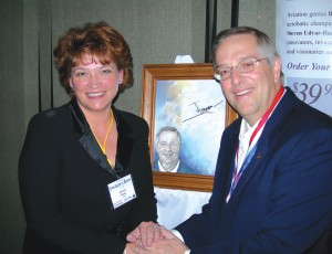 Andrea Parks drew the December 2005 cover featuring Entrepreneur of the Year Vern Rayburn.