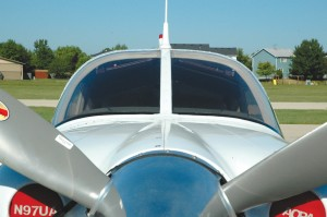 The Arrow's three-bladed Hartzell propeller and 200-hp Lycoming IO-360 engine give the aircraft a little extra zest.