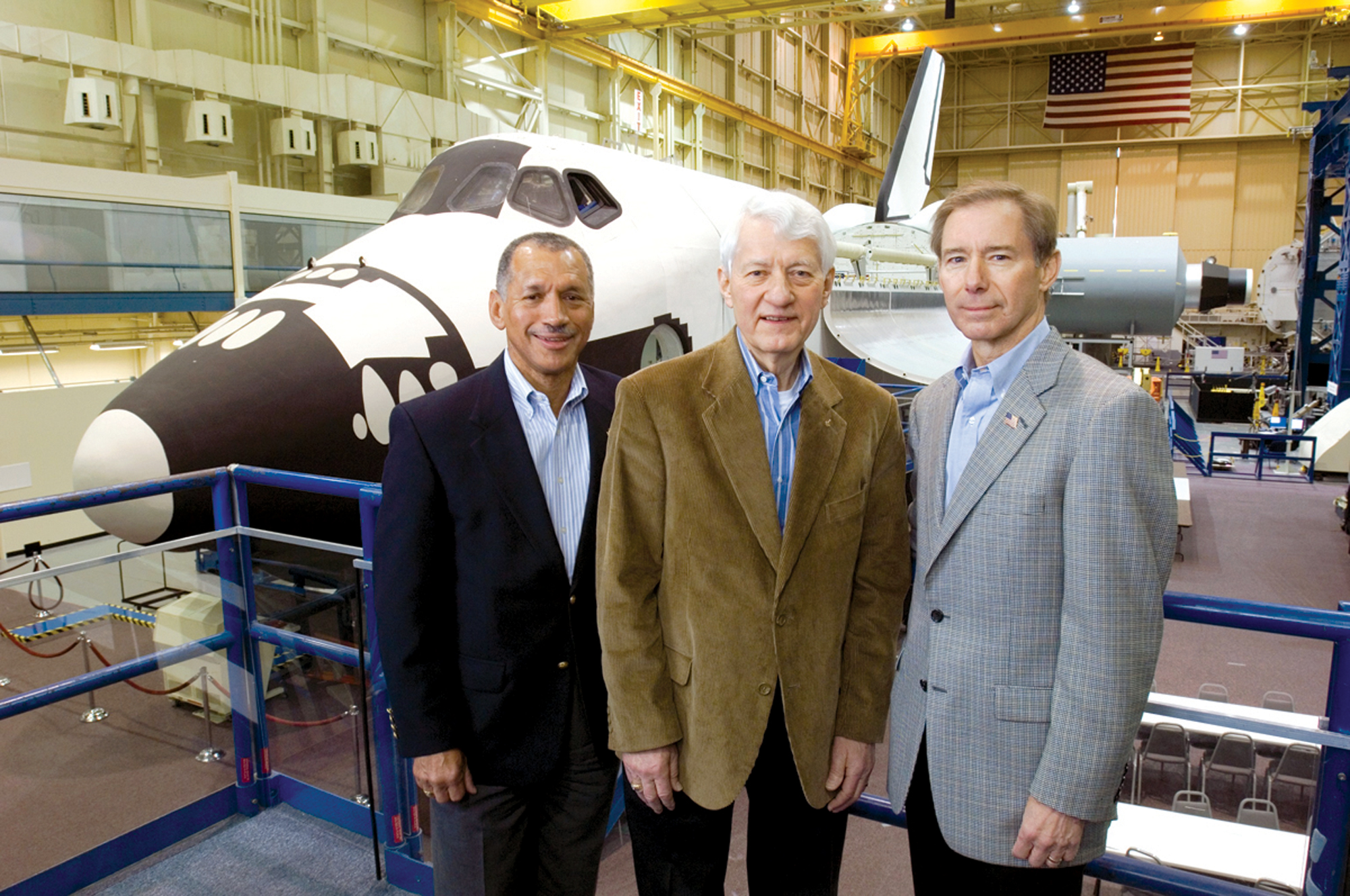 Three Space Shuttle Astronauts to be Inducted into Astronaut Hall of Fame