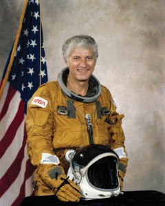Henry Hartsfield became an astronaut in 1969 and is a veteran of three space shuttle flights with 483 hours in space.