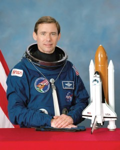 A veteran of three space shuttle missions, Brewster Shaw has logged 533 hours of space flight.