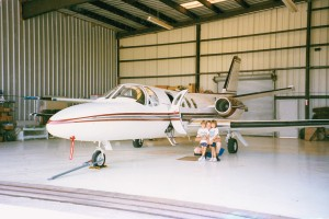 Jeff Rodengen used to keep his Citation ISP Eagle in the air 12,000 to 15,000 miles a month. It wasn't unusual for him to drop into two or three cities in a day, and return to have dinner with his twins, who love to fly.
