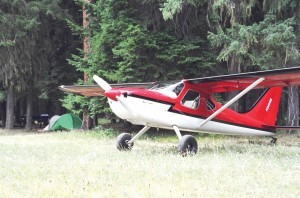 Glasair Aviation's popular Sportsman 2+2 is designed for a variety of uses, including recreational trips into mountain meadows for camping.