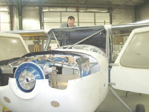 Glasair's newest option is building a plane at its plant in Arlington, Wash., with an engine, avionics and everything needed to taxi out for a test flight in two weeks, all at a pre-set price. That's a first for the kit plane industry.